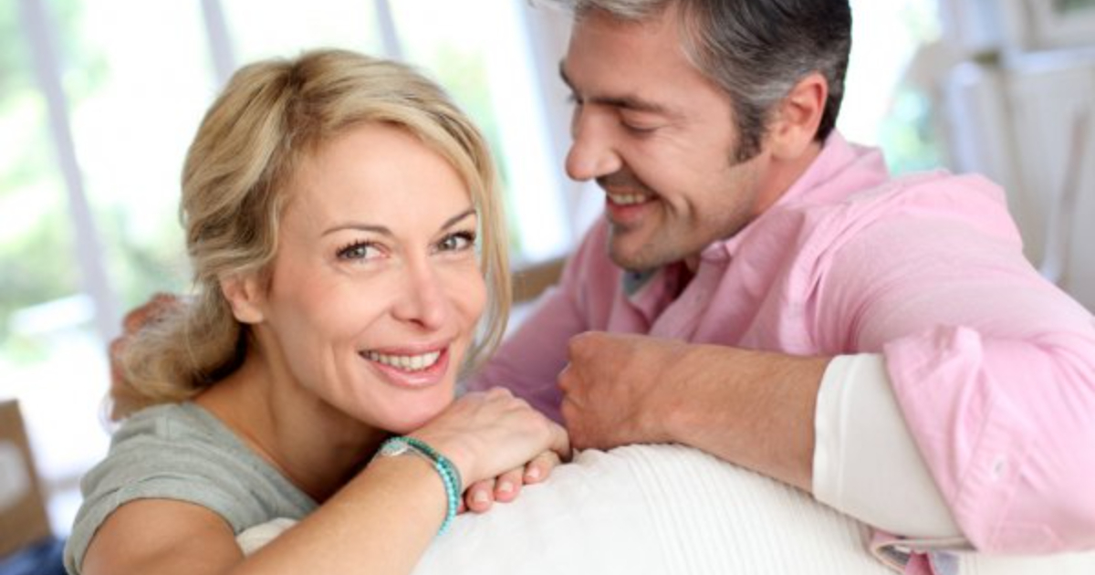Healthy Midlife Man and Woman